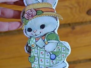 Как сделать милую пасхальную Кролю с одёжкой и сумочкой. Ярмарка Мастеров - ручная работа, handmade.