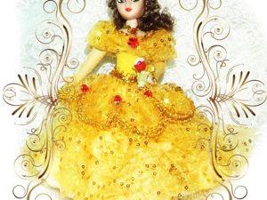Моя Бель — кукла из мультфильма Диснея. Ярмарка Мастеров - ручная работа, handmade.