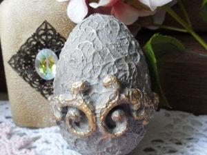 Шесть способов декора интерьерных яиц. Мастер-класс №6. Ярмарка Мастеров - ручная работа, handmade.