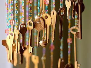 Мастер-класс: музыка ветра из старых ключей. Ярмарка Мастеров - ручная работа, handmade.