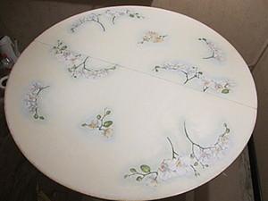 МК по декорированию старого круглого стола. Ярмарка Мастеров - ручная работа, handmade.