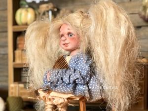 Девочка-домовёнок. Ярмарка Мастеров - ручная работа, handmade.