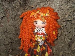 Кукла «Осень». Часть первая: лепим лицо и руки. Ярмарка Мастеров - ручная работа, handmade.