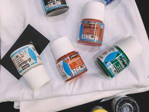 Обзор всей цветовой палитры краски PEBEO с эффектом замши. Ярмарка Мастеров - ручная работа, handmade.