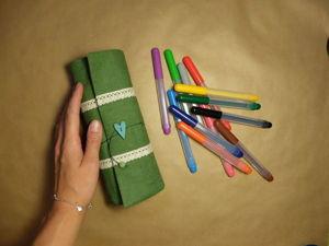 Мастер-класс: Создаем текстильный пенал. Ярмарка Мастеров - ручная работа, handmade.