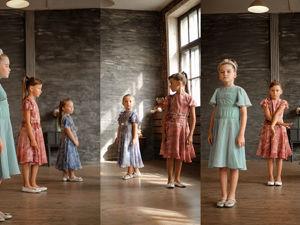 Шелковое брусничное платье Птица счастья , детская мода люкс. Ярмарка Мастеров - ручная работа, handmade.