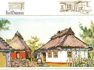 Традиционное сельское жилье на Украине. Ярмарка Мастеров - ручная работа, handmade.