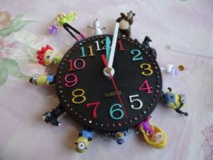 Мастерим «Киндер-часы». Ярмарка Мастеров - ручная работа, handmade.