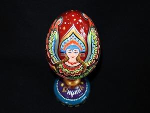 Делаем пасхальное яйцо «Сирин». Ярмарка Мастеров - ручная работа, handmade.