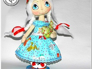 Рисуем глаза и оформляем лицо кукле-тыквоголовке. Ярмарка Мастеров - ручная работа, handmade.
