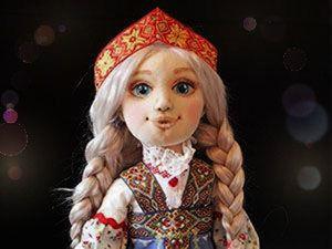 Шьем куколку Настеньку из «Сказа о Ясном Соколе»: подробный мастер-класс. Ярмарка Мастеров - ручная работа, handmade.