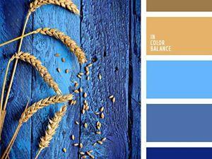 Ультрамарин и его сочетание с другими оттенками: создаем оригинальные и яркие образы. Ярмарка Мастеров - ручная работа, handmade.