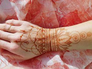 Мехенди или украшение создающее настроение!. Ярмарка Мастеров - ручная работа, handmade.