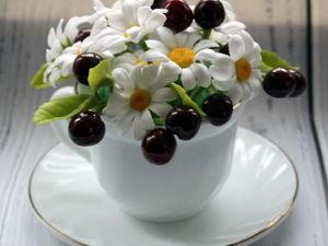 «Вишневый десерт»  нашел свою хозяйку!. Ярмарка Мастеров - ручная работа, handmade.