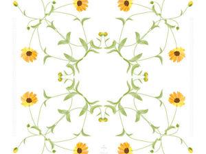 Уроки дизайна вышивки. Урок 1: ботанический конструктор. Ярмарка Мастеров - ручная работа, handmade.