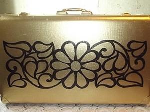 Переделка - старый чемодан в новый.. Ярмарка Мастеров - ручная работа, handmade.
