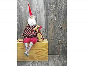 Шьем старого доброго Санта Клауса. Ярмарка Мастеров - ручная работа, handmade.
