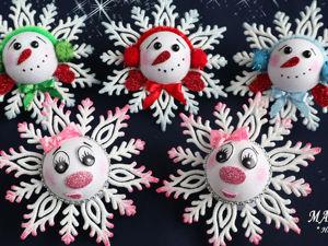 Мастерим 3D-снежинки. Ярмарка Мастеров - ручная работа, handmade.