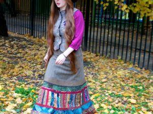 Как сшить красивейшую всепогодную юбку? Часть 6. Японский хлопок. Ярмарка Мастеров - ручная работа, handmade.