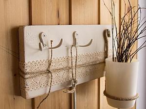 Как сделать ключницу в деревенском стиле. Ярмарка Мастеров - ручная работа, handmade.