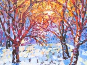 Зима и ее праздники! Авторские картины для вас!. Ярмарка Мастеров - ручная работа, handmade.