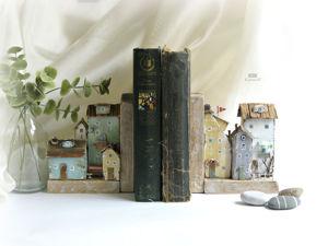 Держатель для книг – необходимая и красивая мелочь! Стиль дрифтвуд арт. Ярмарка Мастеров - ручная работа, handmade.