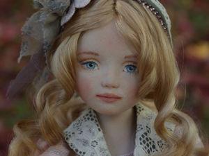 Текстильная кукла Ольга. Ярмарка Мастеров - ручная работа, handmade.
