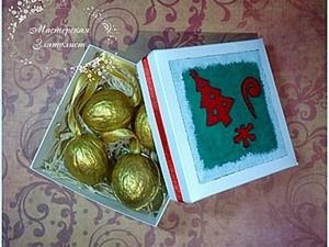 Мастерим симпатичные новогодние коробочки. Ярмарка Мастеров - ручная работа, handmade.