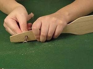 Видео мастер-класс: лопатка №1. Шлифуем и грунтуем деревянную заготовку. Ярмарка Мастеров - ручная работа, handmade.