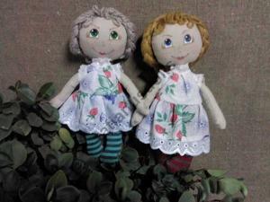 Шьем игровую текстильную куклу для детей от 1,5 лет. Часть 1. Ярмарка Мастеров - ручная работа, handmade.