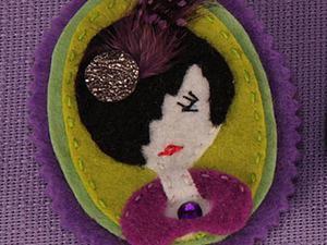 """""""Игра в куколки"""" — шьём мягкие брошки из фетра. Ярмарка Мастеров - ручная работа, handmade."""