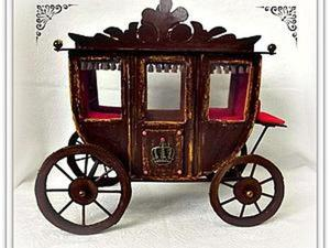 Мастерим карету для Принца. Ярмарка Мастеров - ручная работа, handmade.