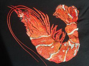 Художественная машинная вышивка. Ярмарка Мастеров - ручная работа, handmade.