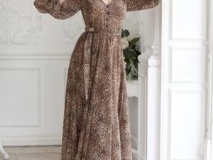 Аукцион на Летящее шифоновое платье! Старт 2500 руб.!. Ярмарка Мастеров - ручная работа, handmade.