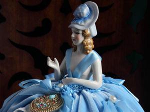 Авторская игольница Агата на основе антикварной кклы-половинки half doll. Ярмарка Мастеров - ручная работа, handmade.