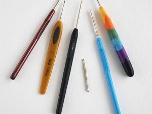 Личный ТОП-5 вязальных крючков. Ярмарка Мастеров - ручная работа, handmade.