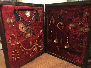 Мастерим органайзер — выставочный стенд для украшений. Ярмарка Мастеров - ручная работа, handmade.
