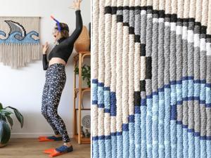 Нетипичное макраме: 20 работ канадки Janis Ledwell-Hunt. Ярмарка Мастеров - ручная работа, handmade.