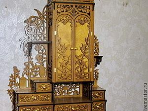 """Изготавливаем шкаф """"домашняя аптечка-кабинет"""". Ярмарка Мастеров - ручная работа, handmade."""