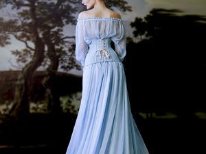 Вариант одного из самых универсальных платьев коллекции. Ярмарка Мастеров - ручная работа, handmade.