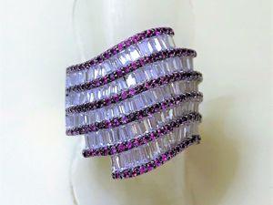 Видео дизайнерского кольца из серебра  «Роковая сила». Ярмарка Мастеров - ручная работа, handmade.