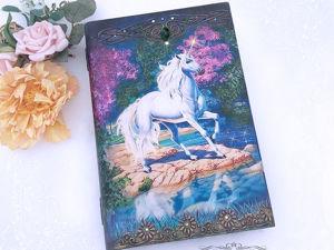 Шкатулка — книга   «Unicorn»    видео и фото. Ярмарка Мастеров - ручная работа, handmade.