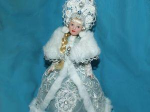 Мои куклы Снегурочки. Ярмарка Мастеров - ручная работа, handmade.