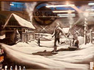 Рисунки на стекле: снежные окна Тома Бейкера. Ярмарка Мастеров - ручная работа, handmade.