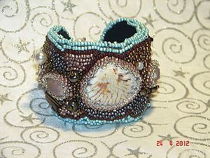 Создаем из ракушек и бисера браслет «Море». Ярмарка Мастеров - ручная работа, handmade.
