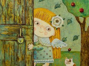 Счастье в дверь стучится. Ярмарка Мастеров - ручная работа, handmade.