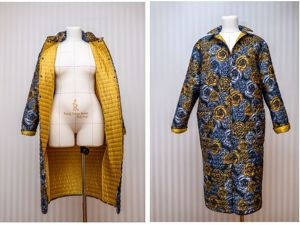 Мастер-класс по пошиву легкого пальто. Ярмарка Мастеров - ручная работа, handmade.