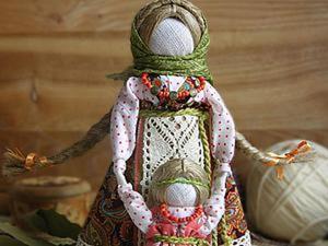 Мастер-класс «Народная кукла Ведучка». Ярмарка Мастеров - ручная работа, handmade.