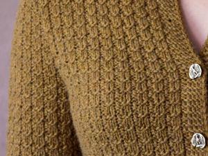 Классический английский кардиган из кашемира уже сегодня в магазине!. Ярмарка Мастеров - ручная работа, handmade.