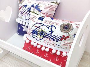 Розыгрыш сертификата, именной подушки  и гирлянды. Ярмарка Мастеров - ручная работа, handmade.